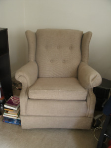 Very Comfortable Swivel Rocking Armchair for sale