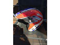 Hebo trials bike helmet