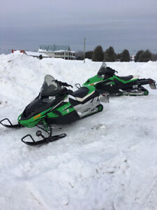 2011 Arctic Cat Z1 1100 turbo EXT (stage 1) and LXT (stage 3)