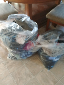 2 full bags of clothes