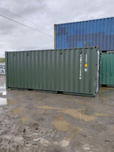 One trip 20' container with 8 vents