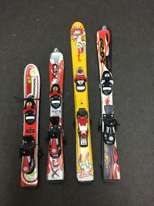 Ski Alpin pour enfants de 80 cm et 90 cm 70$