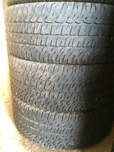 Michelin LTX 285/55 R20 - Good Year Wrangler 275/60 R20