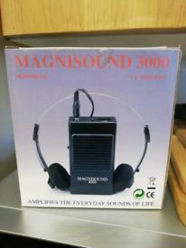 Magnisound 3000 hearing aid