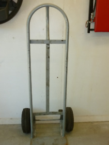 Appliance cart/dolly with P loop handle