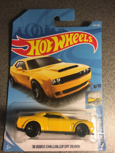 Hot wheels Dodge Challenger SRT Demon