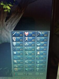 Runescape maxed melee account