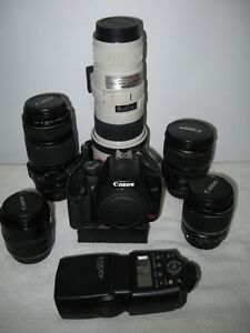 Complete Cannon Camera outfit