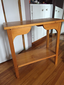 Real Wood Side Table