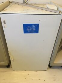 Indesit integrated under counter freezer