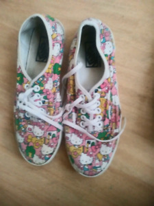 Hello kitty vans! Wore them twice-  just time to get all this st