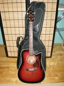 BC RICH ACOUSTIC 6 STRING GUITAR