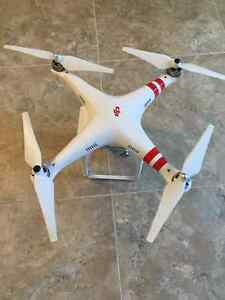 DJI Phantom 2 Vision Plus with backpack case and extra batteries Prince George British Columbia image 2