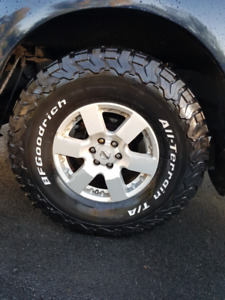 BF Goodrich All Terrain T/A KO2 285/75R16/E  Truck Tires