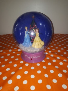 Disney Christmas electronic snow globe