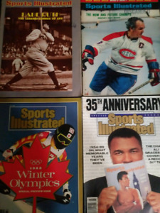 12 Sports Illustrated issues.