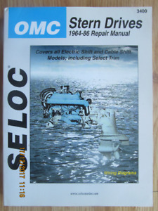 SELCO STERN DRIVES 1964-86 REPAIR MANUAL