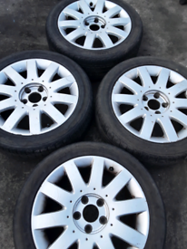 "17"" Nissan Micra, Juke, Leaf, Navara, X Trail alloy wheels (122)"