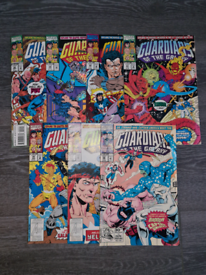 Guardians of the galaxy comics 1992-93