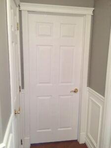 Portes intérieures , extérieures, pliantes simple ou double 48po