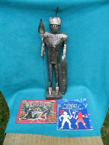 2  Medieval Knights and  2 books on knights