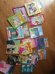 Children's books and chapter books