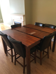 6 seat high table for sale