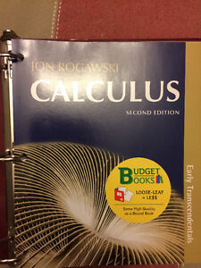 MUN textbook: Calculus-Early Transcendental