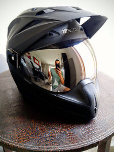 Icon Variant Helmet with Reflective Visor [XL]