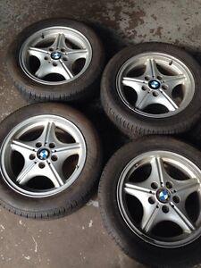 "Set of 4 - 16"" OEM bmw wheels ,,off 96 z3 roadster"