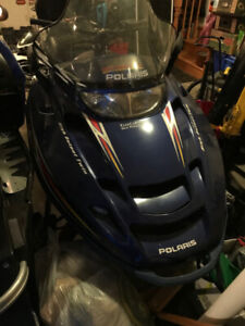 2001 POLARIS 800 LE - PROJECT SLED OR BUY FOR PARTS