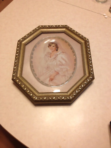 PRINCESS DIANA COLLECTOR PLATE W/FRAME FOR SALE! ! ! ! !