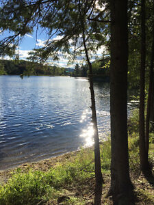 Waterfront lot on McGregor Lake - No GST