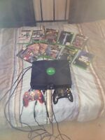 regular xbox with games $50 or best offer