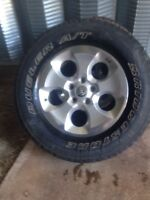 2014 Jeep Wrangler tires and Rims