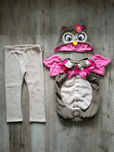 Girl's Owl Costume - size 4T