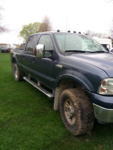 2005 Ford F250. Will take atv as partial/full trade