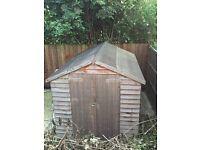 Garden shed 8x8