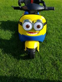 Minion ride on scooter/ Bike