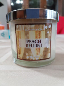 Two Bath and Body Works Small Tumbler Candles