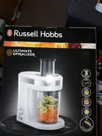 Russell Hobbs Ultimate Spiralizer 300W RRP £56.99