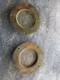 Pair old ships/ boat port holes .