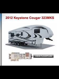 2012 Cougar 5th. Wheel Excellent condition, very clean