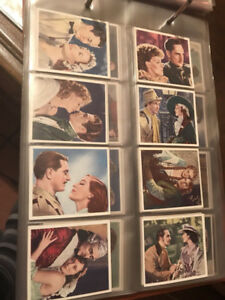 CIGARETTE CARDS COMPLETE SETS 1900 -1940 ALL ORGINAL