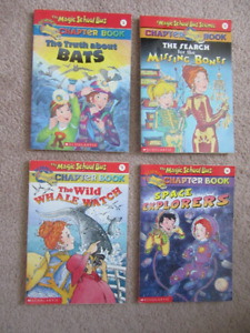 Magic School Bus Chapter Books