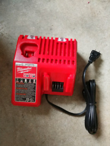 Sold!! Milwaukee M12 and M18 battery charger