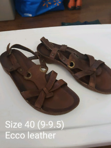 Womens Ecco Sandals size 40