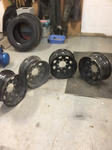 8X170 Ford F-250/F-350 aftermarket steel wheels