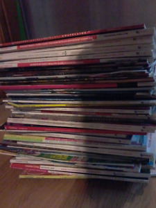 Magazines- 50 plus assorted