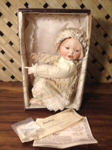 """Lisa"" Collectable Porcelain Doll"